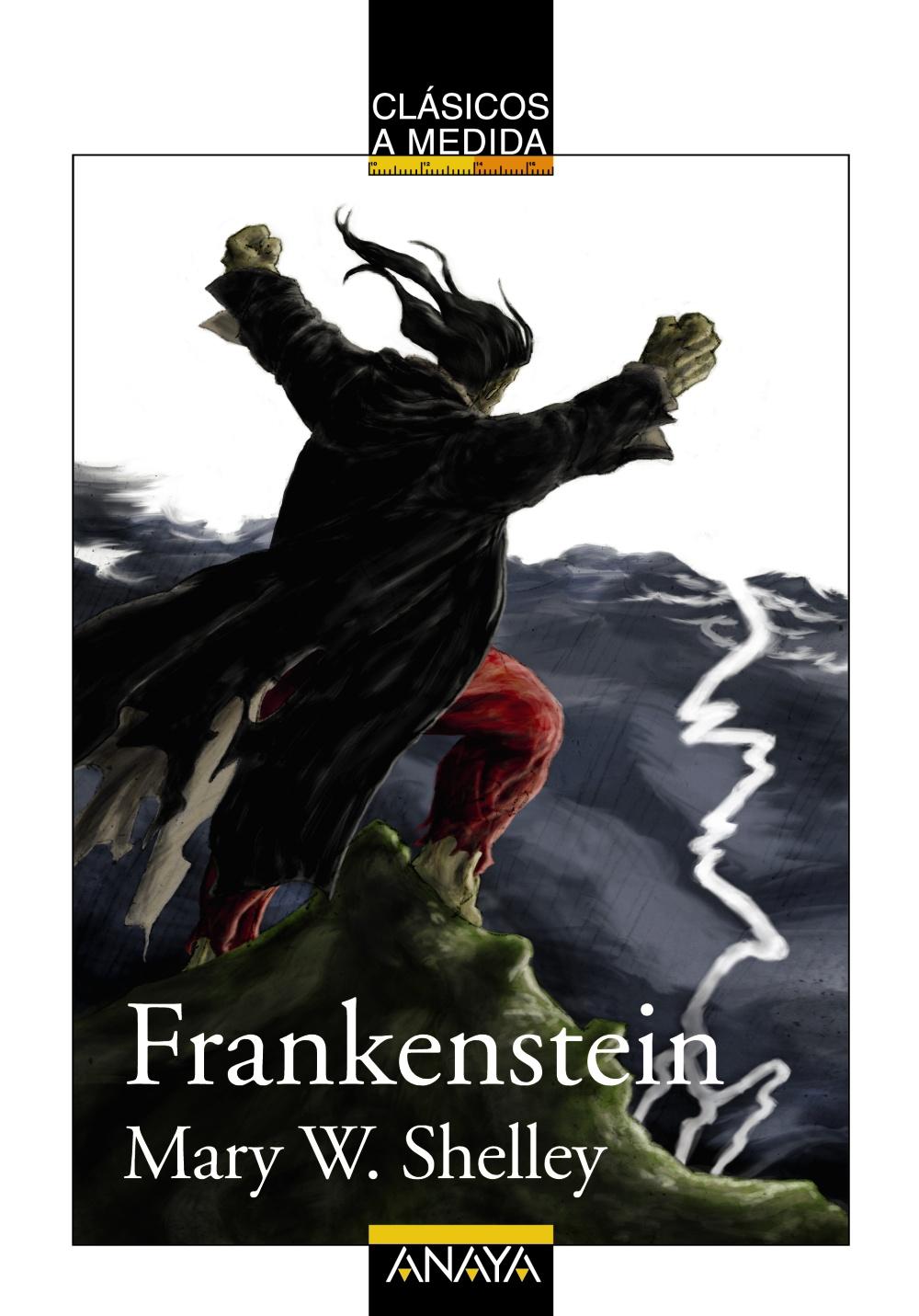 Resultado de imagen de frankenstein mary shelley anaya