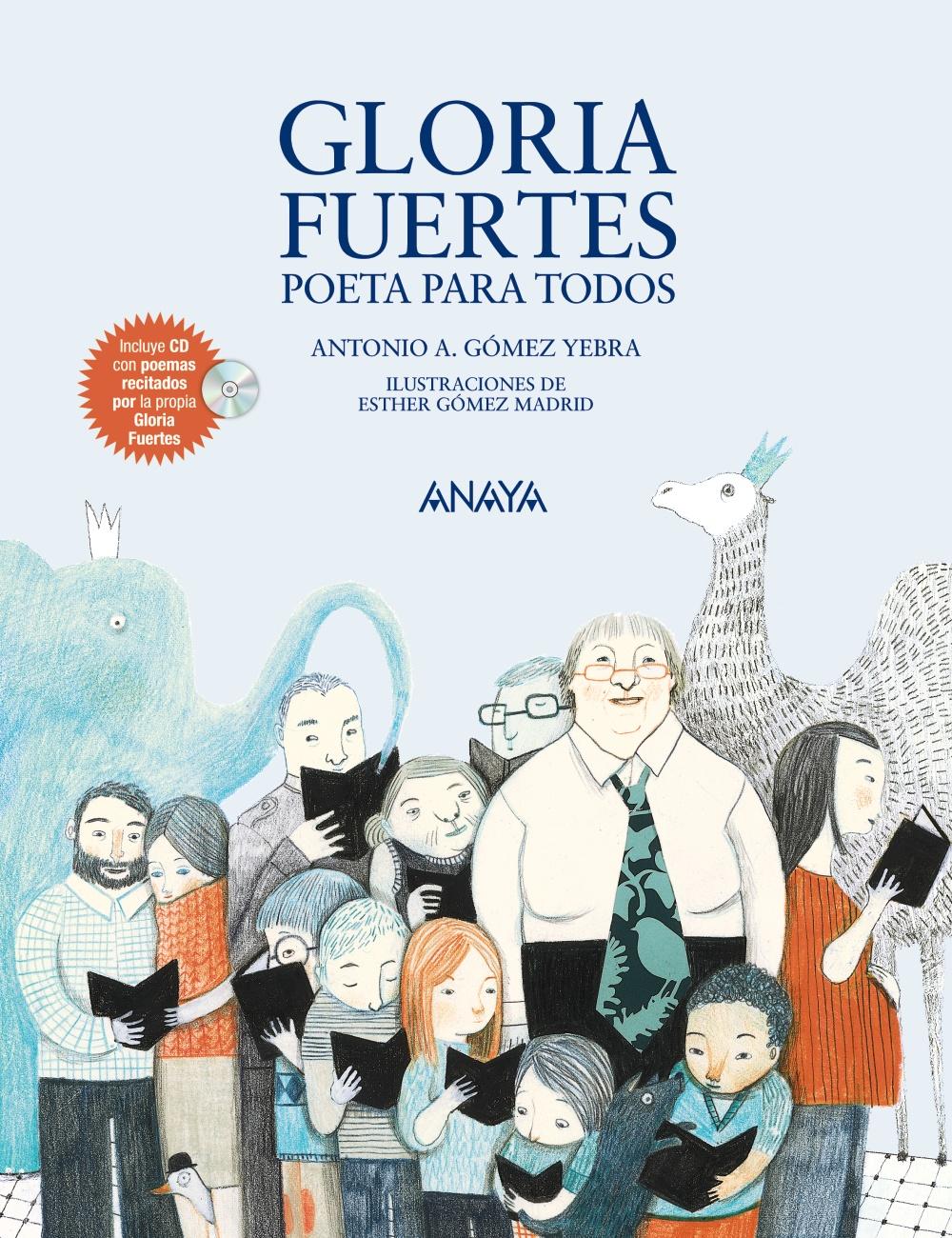 Resultado de imagen de Gloria Fuertes Poeta ANAYA
