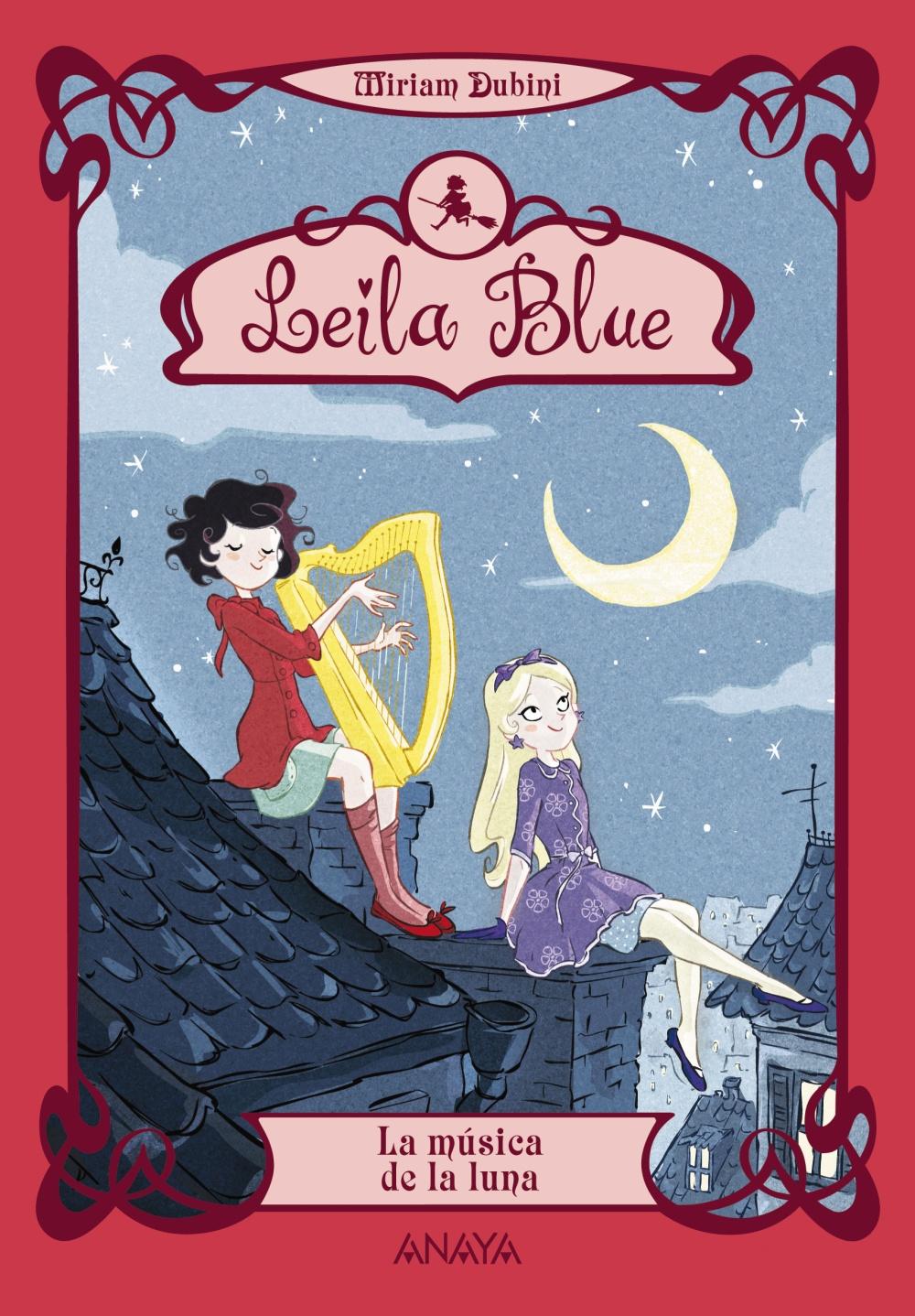 Leila Blue 2: La música de la luna (ebook)