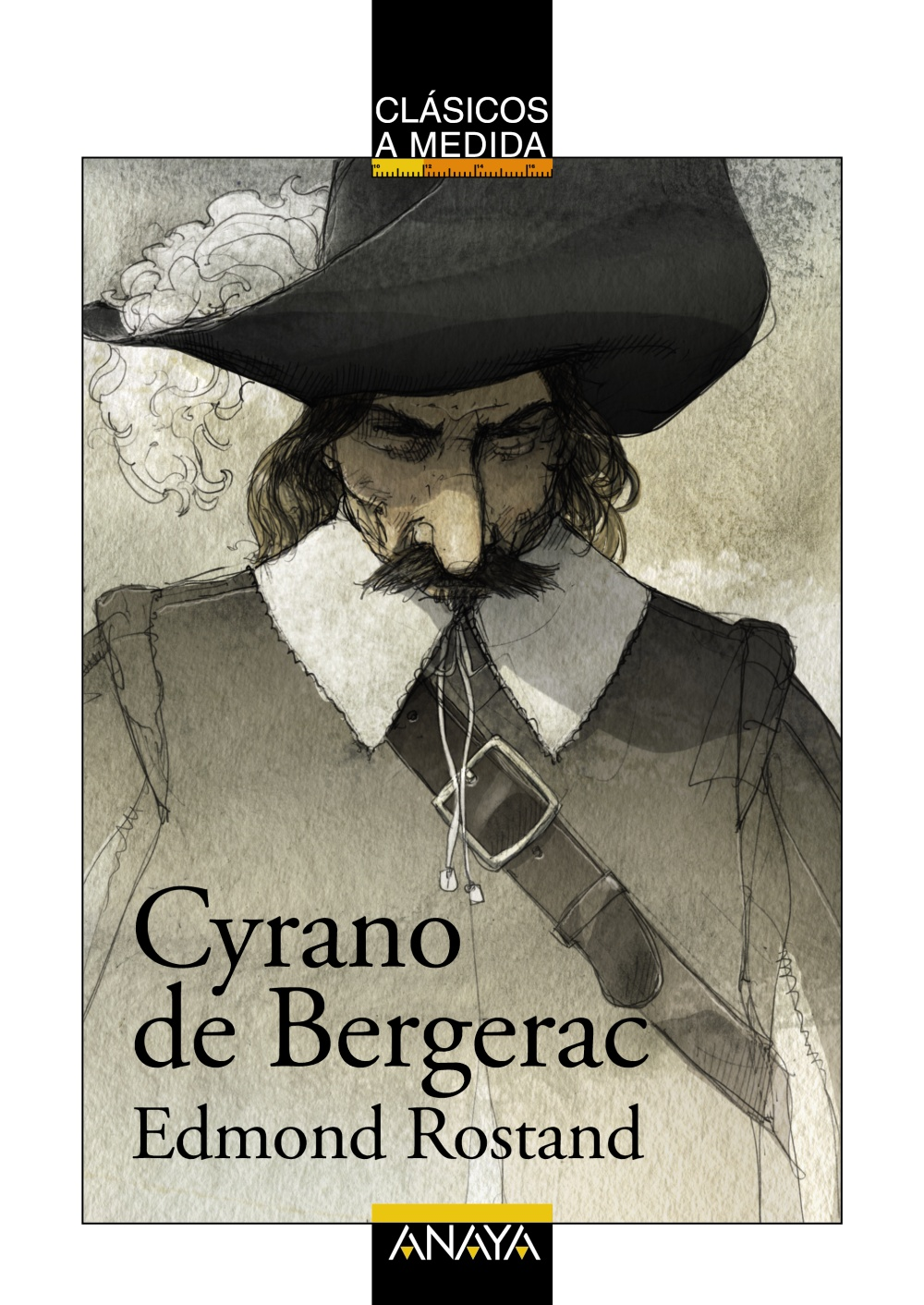 an analysis of cyrano de bergerac by edmond rostand Cyrano de bergerac by edmond rostand — a literary and philosophical  analysis level intermediate average rating save lesson ayn rand once  said that.