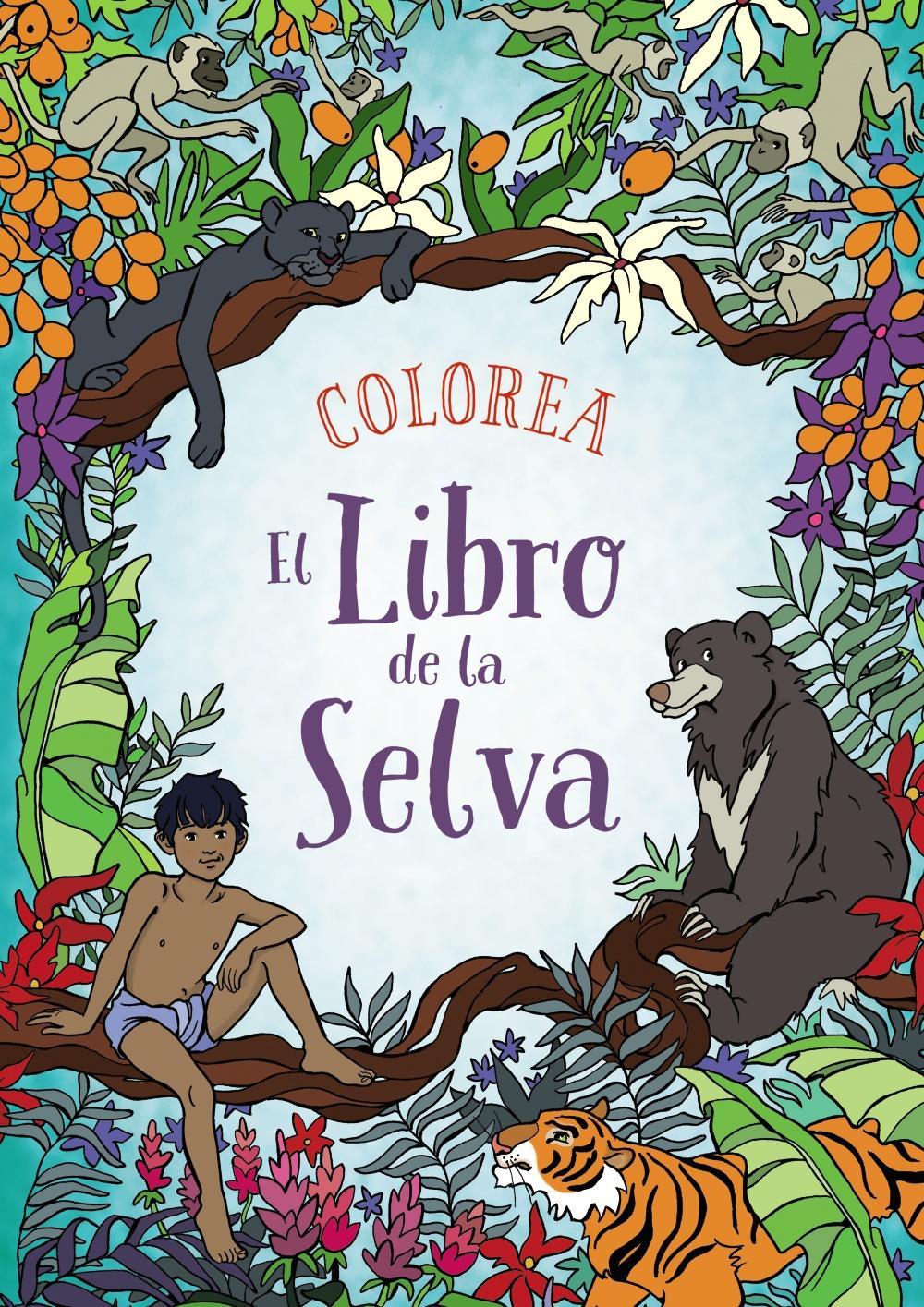 Colorea El Libro de la Selva | Anaya Infantil y Juvenil
