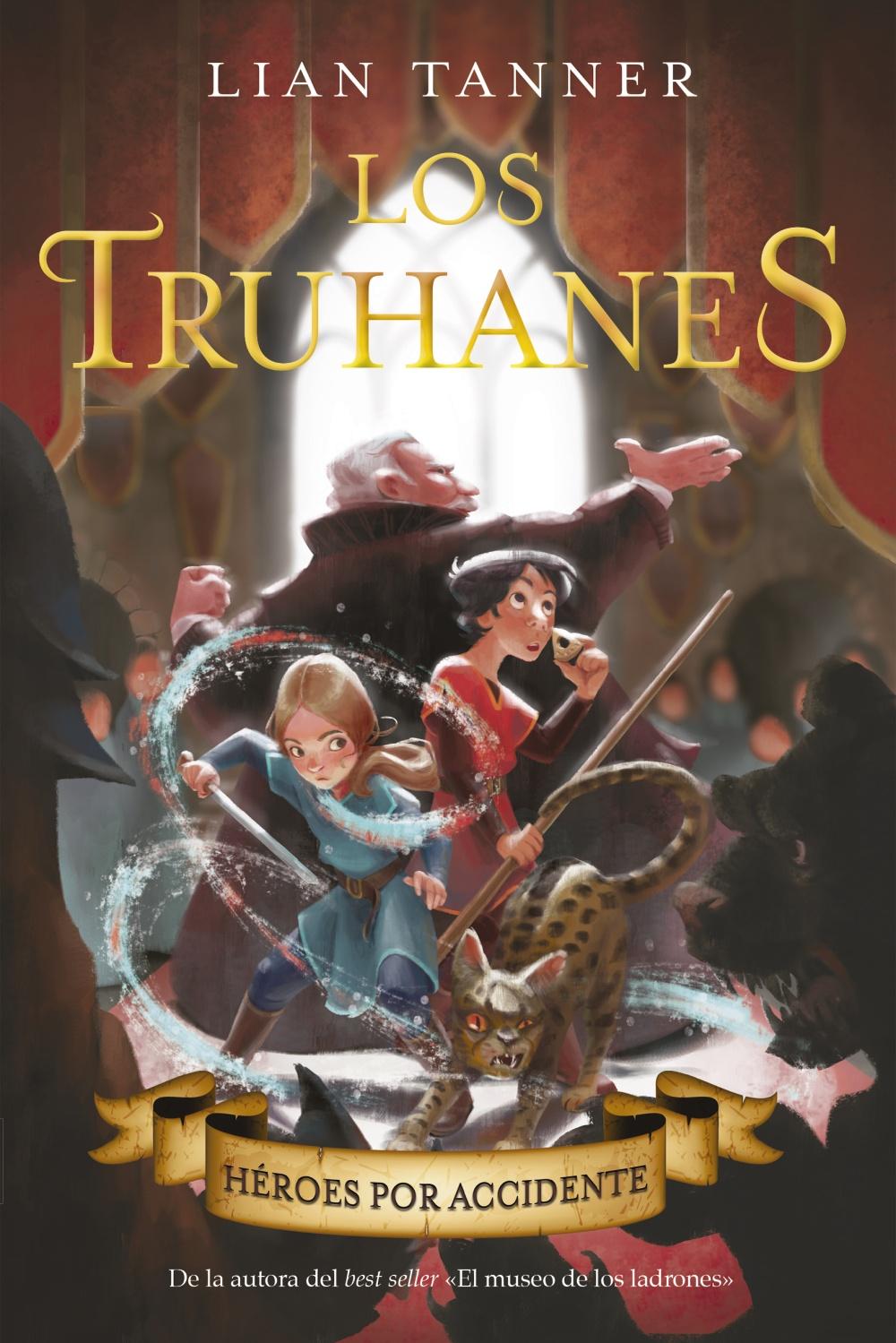 Resultado de imagen de Héroes por accidente (Los Truhanes I) Lian Tanner