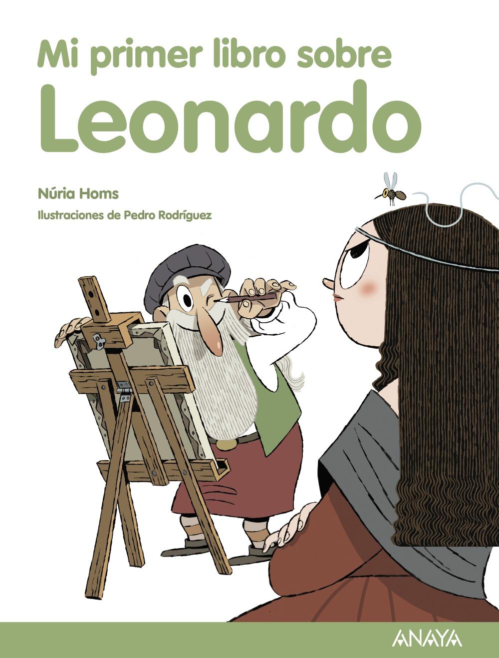 Mi primer libro sobre Leonardo, de Núria Homs