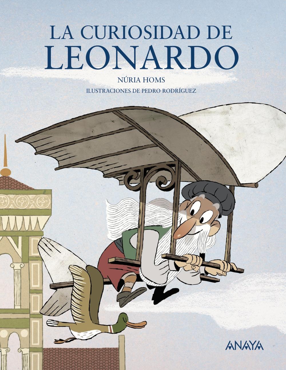 La curiosidad de Leonardo, de Núria Homs