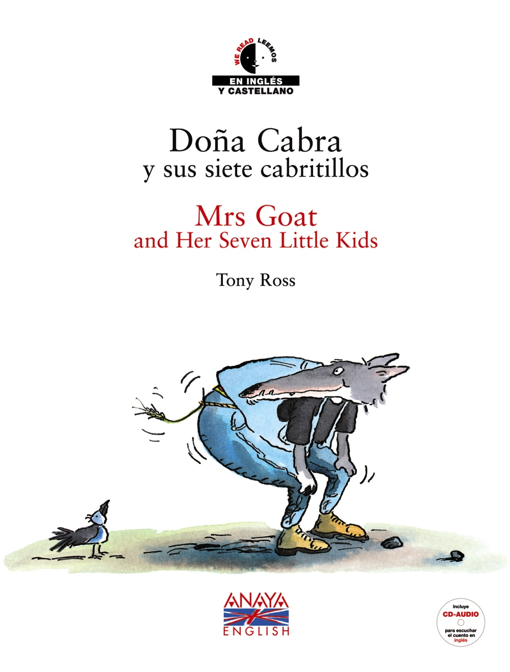 Doña Cabra y sus Siete Cabritillos. Mrs Goat And Her Seven Little Kids