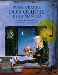 Imagen de la obra 'Aventuras de don Quijote de la Mancha'