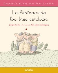 Imagen de la obra 'La historia de los tres cerditos'