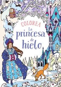 Imagen de la obra 'Colorea La princesa de hielo'